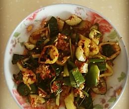 韩式拌黄瓜的做法