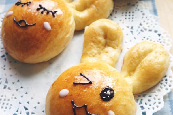 小兔子萌面包的做法