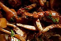 肉蟹煲的做法
