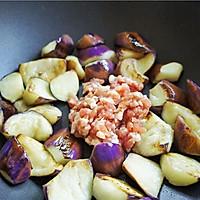 蒜香肉末酱茄子--米饭杀手(4)的做法图解5