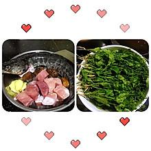 塘葛菜煲生鱼汤