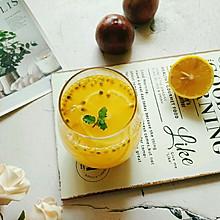 百香果柠檬蜂蜜水#夏日冰品不能少#