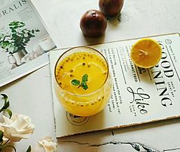 百香果柠檬蜂蜜水#夏日冰品不能少#的做法