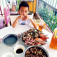 海鲜大咖(家常四种吃法烩)的做法图解8