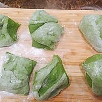 绿茶手撕面包的做法图解4