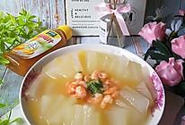 冬瓜蒸虾仁#太太乐鲜鸡汁玩转健康快手菜#太太乐鲜鸡汁蒸鸡原汤的做法