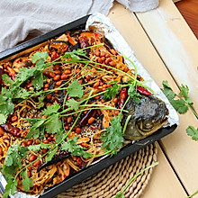 #长帝CR32KEA烤箱试用#香辣烤鱼