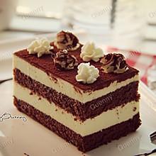 黑白巧克力慕斯蛋糕#长帝烘焙节华北赛区#