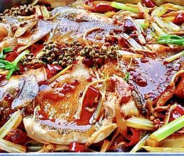 【创意小厨娘】平底锅版家常麻辣烤鱼,麻辣鲜香,美味极了!的做法