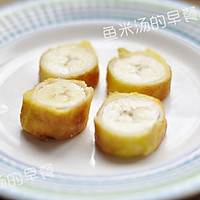 鸡蛋土司香蕉卷——宝宝辅食、营养早餐、甜蜜下午茶的做法图解7