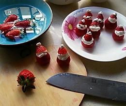 草莓圣诞小矮人的做法