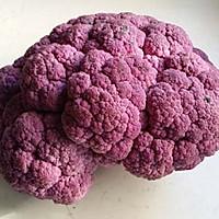 干煸紫花菜的做法图解1