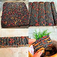 乌发益血的黑芝麻养生糕的做法图解4