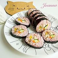 少女心粉红寿司