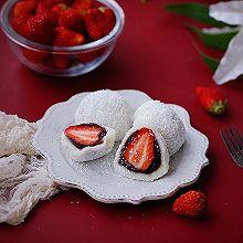 """草莓大福#安佳一口""""新""""年味#"""