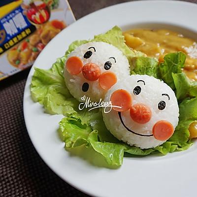 面包超人咖喱_饭团