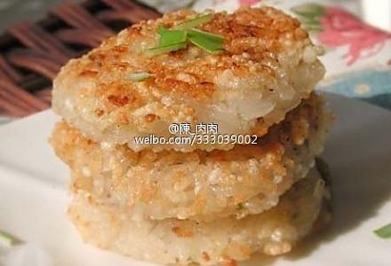 焦香糯米藕饼的做法