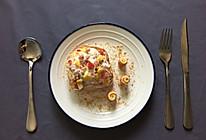 酸奶蔬果吐司+芝士培根卷的做法