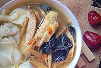 鸡汤菜肉馄饨【附红枣枸杞鸡汤做法】的做法