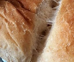 [冷藏发酵]超软拉丝中种全麦酸奶吐司♚面包机揉面版【无糖】的做法