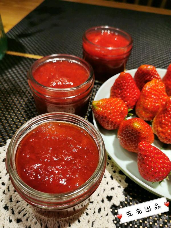 草莓酱自制的做法