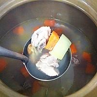 猪尾骨蚝干木瓜汤的做法图解10