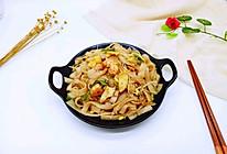 虾仁鸡蛋炒河粉#复刻中餐厅#的做法