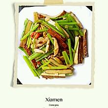 芹菜炒香菇豆干