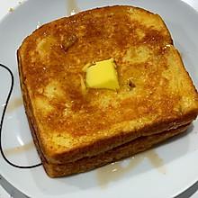 简易版花生酱法式吐司(西多士)