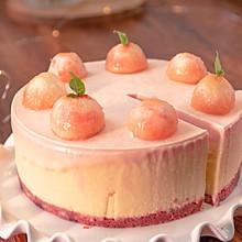 安利夏日美味-水蜜桃慕斯,无需烤箱,桃香十足,吃着像冰淇淋