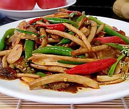 香辣干锅茶树菇的做法