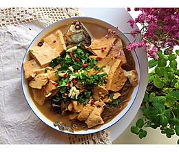 #母亲节,给妈妈做道菜#鲫鱼炖豆腐粉条的做法
