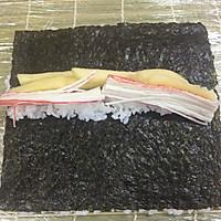 反卷寿司的做法图解4