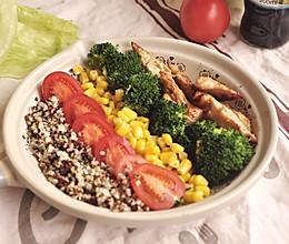 减脂饱腹轻沙拉的做法
