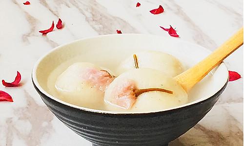 樱花汤圆#樱花味道#的做法