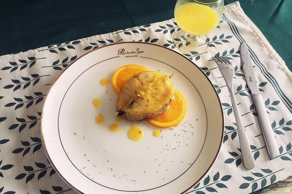 橙香银鳕鱼的做法