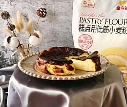风靡全球的巴斯克焦芝士蛋糕#爱好组-低筋#的做法