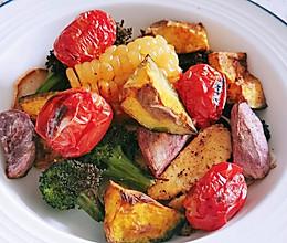 【减肥低卡一人食】烤蔬菜的做法