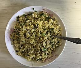 芽菜炒饭的做法
