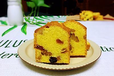核桃果干磅蛋糕(零失败版)
