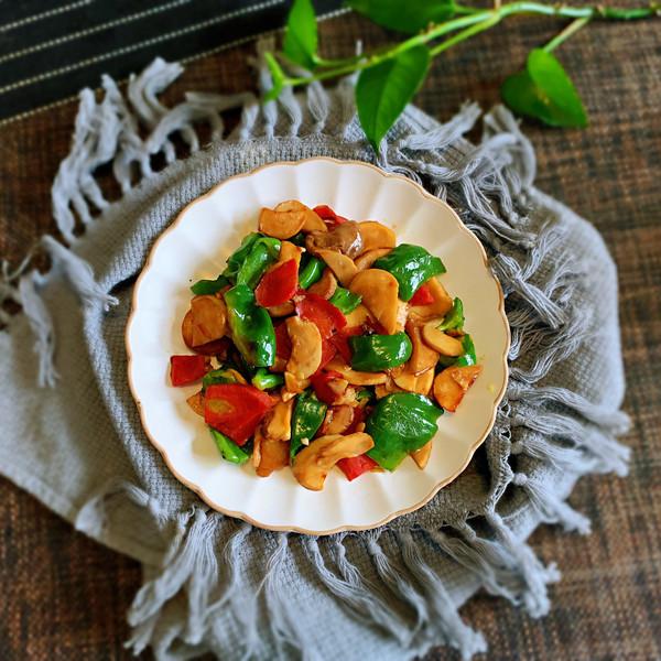 青椒杏鲍菇的做法
