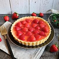 草莓乳酪挞#美的FUN烤箱·焙有FUN儿#