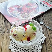 蔓越莓冰激凌#苺汁苺味#的做法图解12