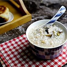 香菇干贝粥(炖锅版)