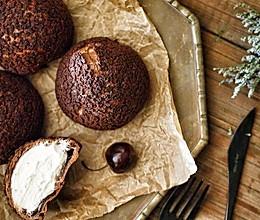 正宗巧克力酥皮泡芙的做法