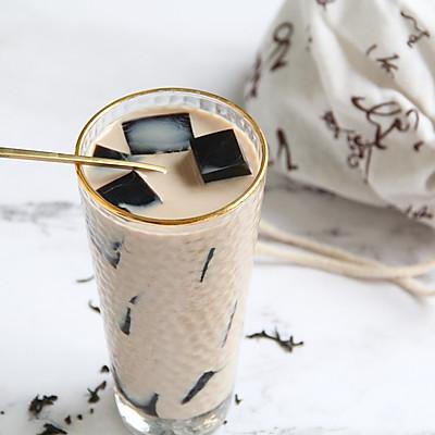 红茶仙草冻