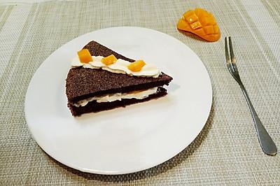 黑米戚风  大米也能烤蛋糕哦