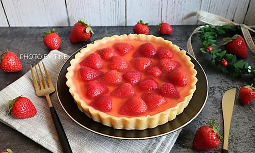 草莓乳酪挞#美的FUN烤箱·焙有FUN儿#的做法