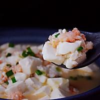 虾仁豆腐羹的做法图解6