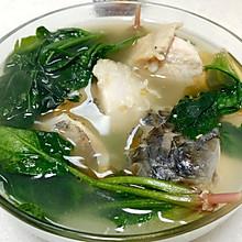 青鱼菠菜汤